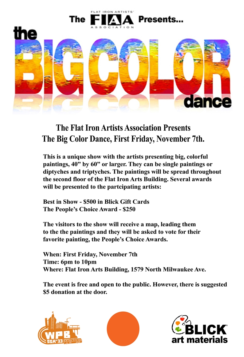 Big Color Dance, First Friday