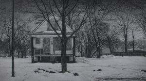 """ What was Once a Home (South Winchester Avenue), by Jennifer Cronin"